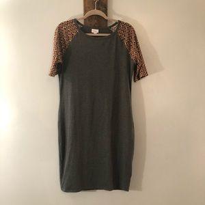 LulaRoe Midi dress size Large